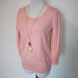 ANN TAYLOR LOFT Size Small Pink Sweater